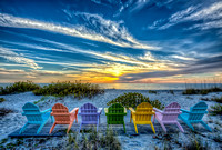 """Captiva Sunset Beach Chairs"""