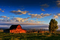 Barns, Farms, and Rural Landscape Scenes